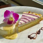 レストランDon - ブルーベリーチーズケーキ