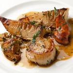 サヴール - 料理写真:帆立貝とタケノコのロースト