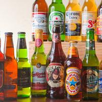 外国人の店長が厳選した、世界の美味しいビールをご用意!