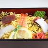 柿もと - 料理写真:ちらし寿司定食ミニうどん付680