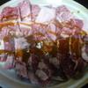 焼肉千草 - 料理写真:手前からハラミ、昔のバラ、上カルビー