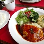 カフェ&レスト プライム - 料理写真:エンジョイランチ/お勧め日替わりランチ/コーヒー付