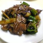 上海小吃 - 豚の腎臓の炒め物