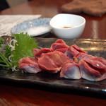 みやま - 砂肝の刺身