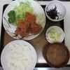 ひさや - 料理写真:鶏唐揚定食