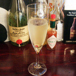 セルジオ ストロベリー - スパークリングワイン(300円)
