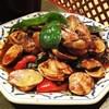 タイランド - 料理写真:あさりのバジル炒め