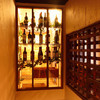 イザヴィーノ - 内観写真:季節によって入れ替えますよ。一期一会のワインとの出会いを楽しんでください