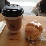 13336596 - ブレンドLとコーヒークリームパン