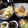 つるや - 料理写真:アナゴイカ天丼