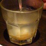 銀座 竹の庵 - ゆず茶