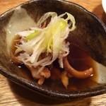 スカラチョッカラ - 白つぶ貝の煮物
