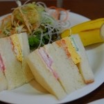 レ・ボ・プロバンス喫茶 - 料理写真:モーニング(サンドイッチ)