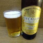 鳥めし 鳥藤 - ノンアルコールビール