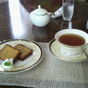 Tea Room HAVANA SWEET - 料理写真:パウンドケーキとラプサンスーチョン