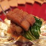 大喜久 - 料理写真:鱧胡瓜の酢の物