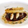ルグドゥノム ブション リヨネ - 料理写真:牛フィレのポワレ モリーユ茸とホワイトアスパラのグリル