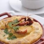 ルグドゥノム ブション リヨネ - 料理写真:リヨン風クネル モリセットゥおばあさんスタイル ナンチュアソース