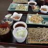 そば処 季楽里 - 料理写真:よしきりセットです