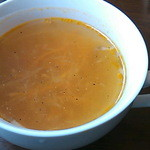 Cafe fuWAri - キッシュプレートのスープ