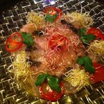 Heart Dinin'Bar &K - 金目鯛と紅白アルファルファのカルパッチョ