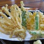岩瀬の清水そば - 天せいろ蕎麦 天ぷら