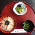 鰉魚亭 - 鰉魚丼2,200円