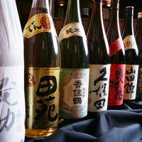 品ぞろえ抜群の日本酒!