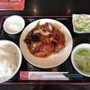 紅福酒家 - 料理写真:鳥唐揚げピリ辛炒めランチ¥850