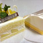 ダンジュ - メローダンジュ580円、ダブルチーズのタルト400円
