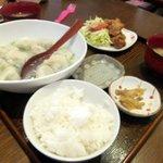 チャイナ食堂かしん - 手作り餃子セット(水)600円