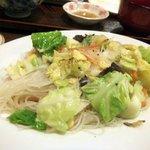 チャイナ食堂かしん - 焼きビーフン(500円)