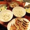 原宿餃子樓 - 料理写真:餃子とサイドメニュー全種類!