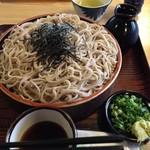 紅竹食堂 - ざる蕎麦630円