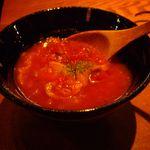 アガレヤ - アガレヤ お通し トマトの冷製