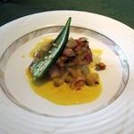 ビ アバンス - 魚料理(鯛のポワレ)