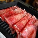 鍋ぞう - 米国産牛肉(肩肉)