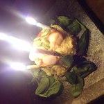 もじゅーる - 甘い物が苦手な友達の誕生日にお願いして出してもらったポテトサラダケーキ♪
