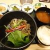 韓国館 - 料理写真:プルコギランチ
