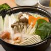 馳走庵 - 料理写真:名物しろ鍋