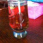 でこぼこ道 - ドリンク写真:麦茶です