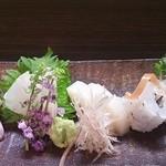 割烹 ほその - ヨコワ・カレイ・タイラギ・鱧焼き霜
