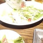 13515300 - 唯一写真に収めたサラダ