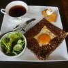 カフェ アプレミディー - 料理写真:モーニングガレット\500