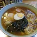 13524093 - ワンタン麺-麺少なめ-薬味抜き