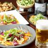 鉄道SL倶楽部 デゴイチ - 料理写真:冷えたビールで乾杯!