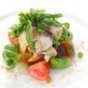 レストラン ヨコオ - 料理写真:貝類とお野菜、白バルサミコ風味