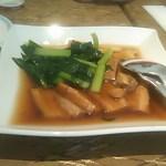 グランドプリンスホテル京都 中国料理 桃園 - 豚バラの角煮季節野菜添え