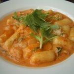 1356212 - 北あかりのニョッキ~小エビと水菜のトマトクリームソース