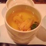 13562313 - 茶碗蒸しウニ載せ(コースの一品)